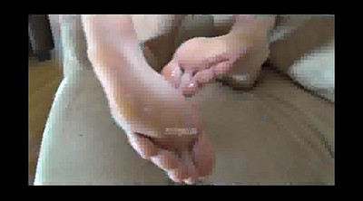 Nylon footjob, Nylon feet, Teen footjob, Nylon teen, Nylon foot