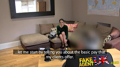Fake tits, Fake agent, Anal casting
