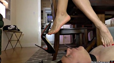 Mistress, Foot domination, Domination foot