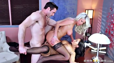 Riley, Boss office, Addams, Threesome casting, Mature foot, Mature fetish