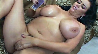 Deep anal, Busty, Oiled anal, Busty oil