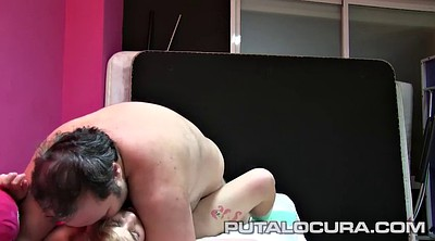 Old porn, Young beauty, Pigtail, Braids