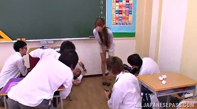 Gangbang, Asian gangbang, Asian teacher