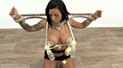 Bound, Tit milk, Mature bdsm, Bdsm milk