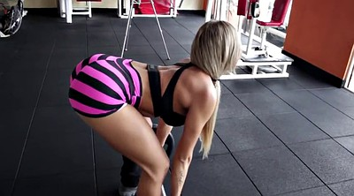 Hot sports, Gym ass, Blonde babe