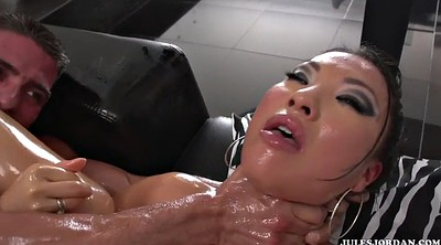 Japanese massage, Asa akira, Akira, Japanese oil massage, Japanese oil, Japanese interracial
