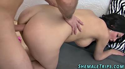 Raw, Shemale creampie
