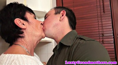 Granny creampie, Mature and young, Amateur mature