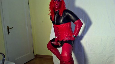 Boots, Crossdressers, Gloves, Glove, Gay boots, G-queen