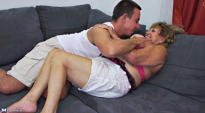 Granny, Taboo, Young boys, Old mature, Mature hairy