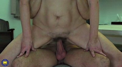 Mom son, Hairy mature