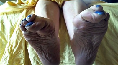 Feet, Mature foot, Feet sole