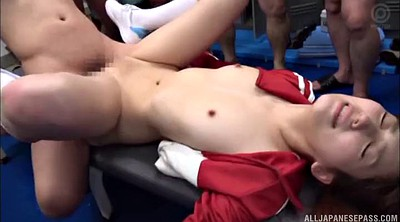 Asian gangbang, Teacher gangbang, Asian teacher