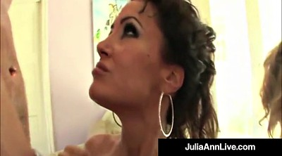 Julia ann, Lisa ann, Julia, Hot mature, Mature orgy