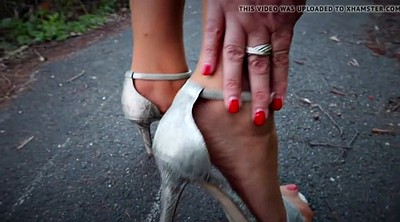 Nylon feet, Nylon foot, Milf feet