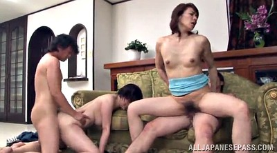 Asian mature, Foursome
