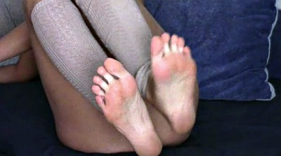 Sounding, Mature feet, Granny feet