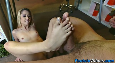 Feet worship, Office feet