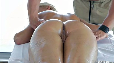 Russian, Oil anal, Erotic massage
