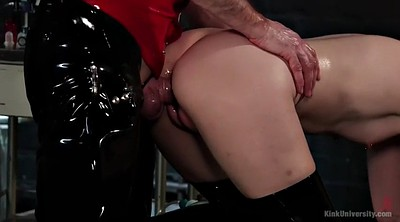 Pump, Latex fetish, Cock, Pussy pump, Charlotte