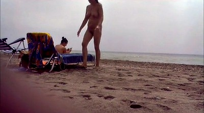 Voyeur, Nudist, Couple, Nudist beach