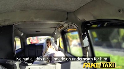 Bride, Taxi, Fake taxi, Wedding, Running, Run