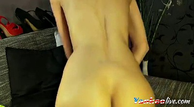 Plug, Butt plug, Solo ass, Hot ass, Blonde ass