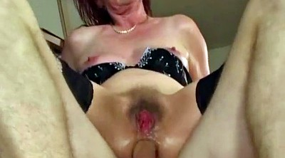 Hairy granny, Anal granny, Anal young