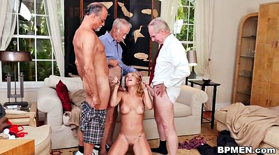 Old gay, Old men, Young gangbang, Gangbang gay