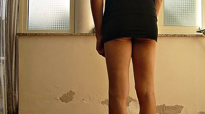 Spank, Spanked, Whip, Whipping, Dress, Teen crossdresser