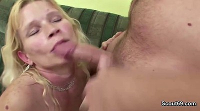 Home alone, Mature fuck