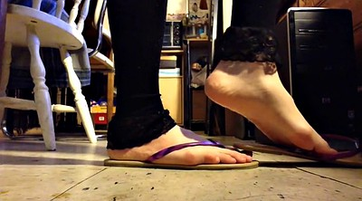 Sandals, Thin, Shoeplay
