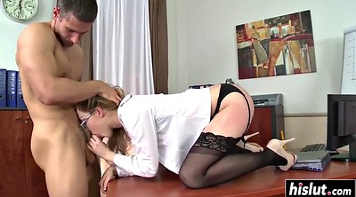 Office anal, Gaping