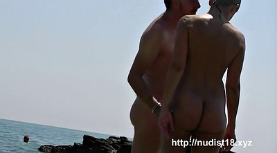 Nudist, Public flash, Beach flash