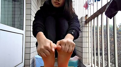 Chinese foot, Chinese feet, Chinese teen, Sole, Teen chinese