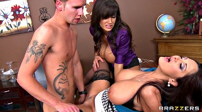 Lisa ann, Ava addams, Busty mom, Mom sex, Office sex, Mom tits