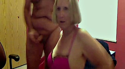 Granny, Mature, Hairy granny, Cock play