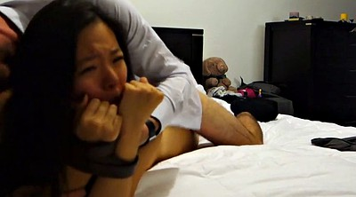 Cuckold asian, Throated