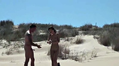 Nudist, Public couple, Nudist beach