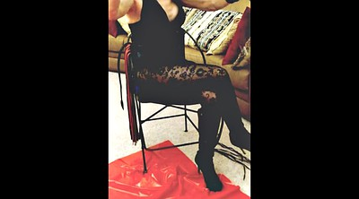 Glove, Whip, Whipping femdom, Leather, Gloved, Boot
