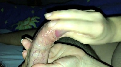 My wife, Cumshots, Wife handjob, German handjob
