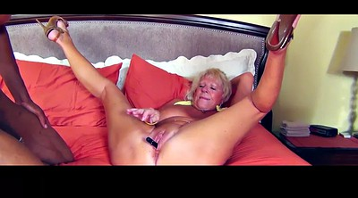 Granny anal, Interracial granny, Anal threesome, Anal mature