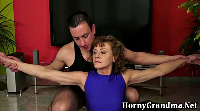 Grannies, Granny anal, Hairy big ass
