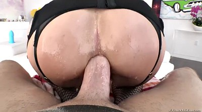 Short hair, Short hair anal, Fishnet, Anal riding, Six, Sammy