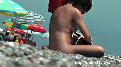 Nudist, Nudism, Beach flash