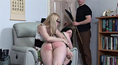 Aunt, Uncle, Plump, Girl spanked