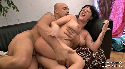 Mom anal, Anal mom, French, French anal, French mom, Anal casting