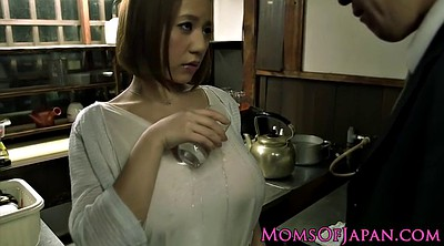 Natural, Busty japanese, Japanese busty, Busty tits, Natural tits, Bathtub