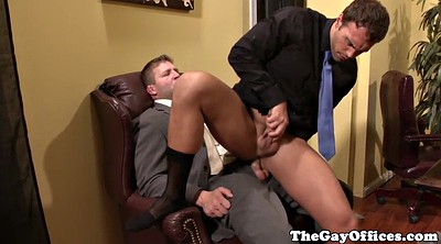 Office, Boss, Office gay, Gay ass
