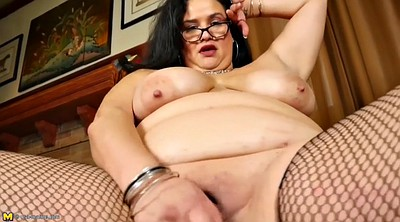 Mature solo, Glasses, Dirty talk, Clit